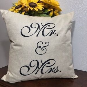 None Accents - Three Farmhouse Style Pillow Covers